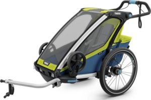 Výběr dětského vozíku za kolo