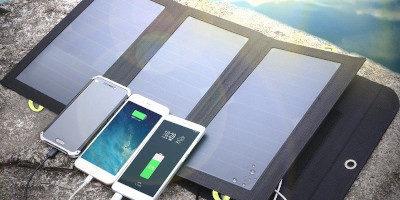 Nejlepší solární nabíječky a jejich test