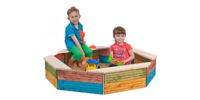 Nejlepší dřevěná a plastová dětská pískoviště 2019