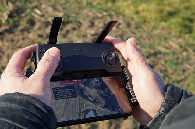 Dosah dálkového ovládání dronu
