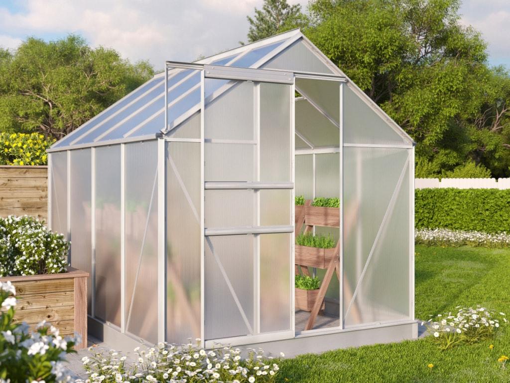rady jak vybrat skleník, pařeniště či fóliovník?