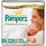 Pampers Premium Care Newborn 2-5 kg 78 ks test
