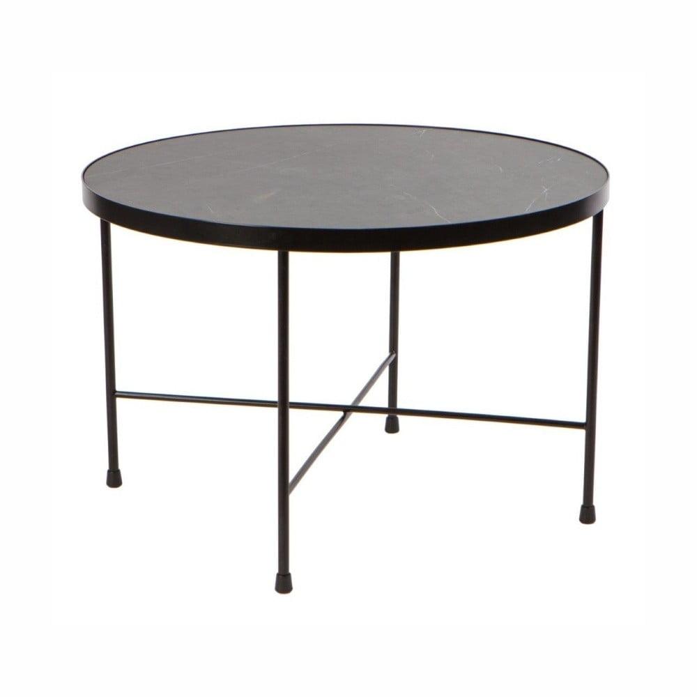 recenze a test Černý konferenční stolek Nørdifra Marble