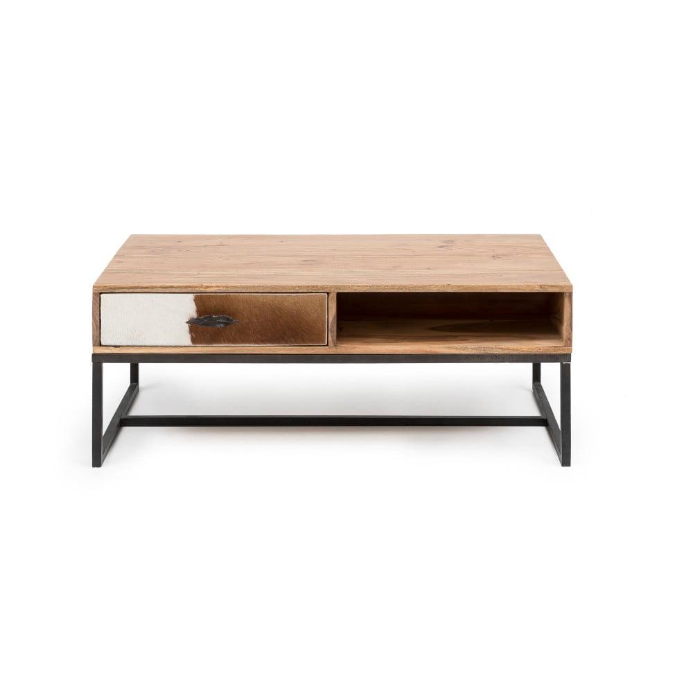 inspirace Dřevěný konferenční stolek WOOX LIVING Botario