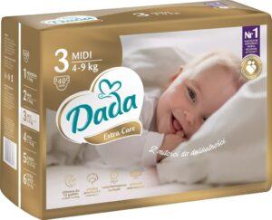 Dada Extra Care 3 MIDI 4-9 kg 40 ks