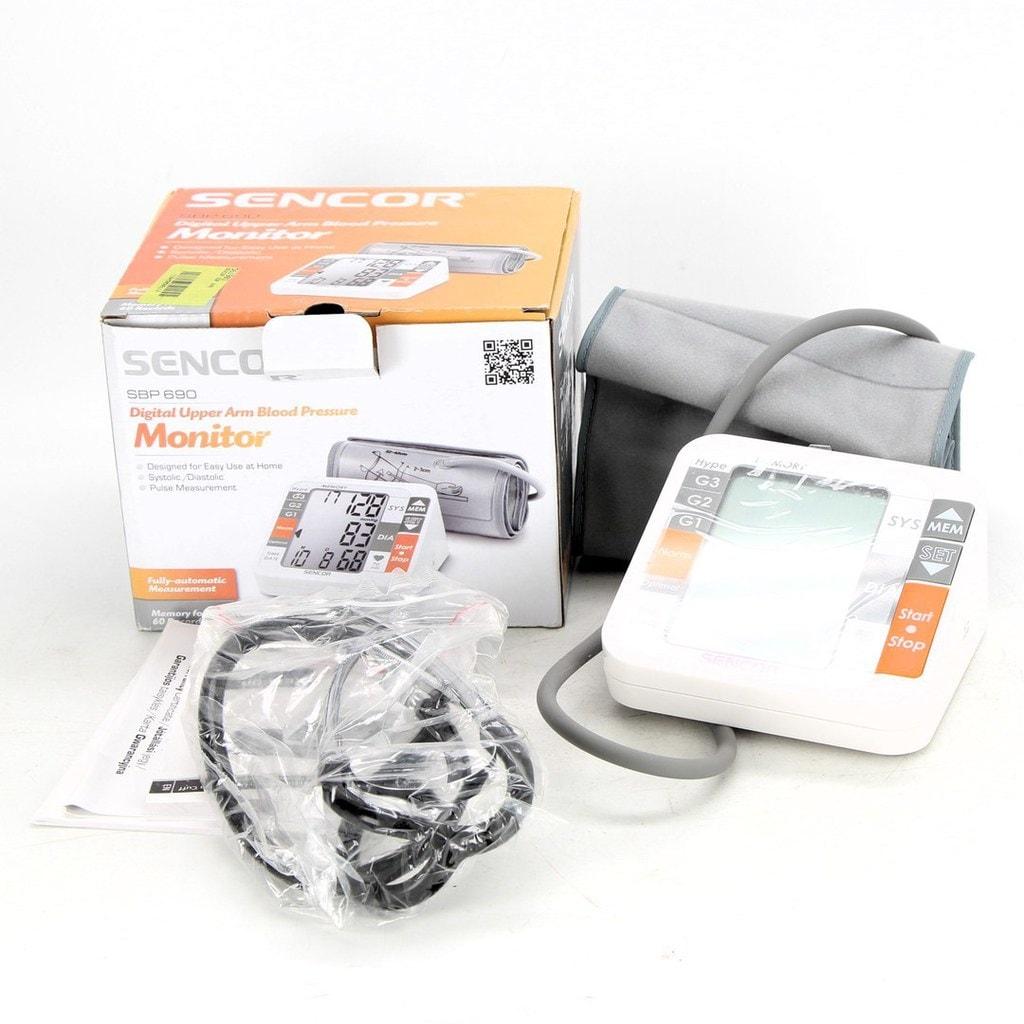 Sencor SBP 690 – Kvalitní tlakoměr na paži za nízkou cenu