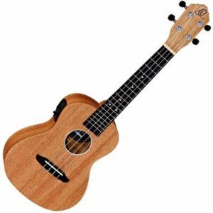 Recenze Ortega RFU11SE – Koncertní elektro-akustické ukulele z mahagonu