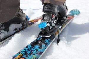 Vázaní lyží
