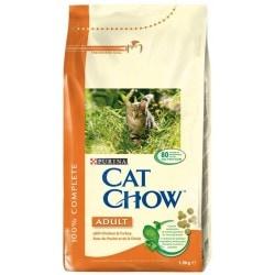 Purina Cat Chow Adult kuře+krůtí 1.5 kg