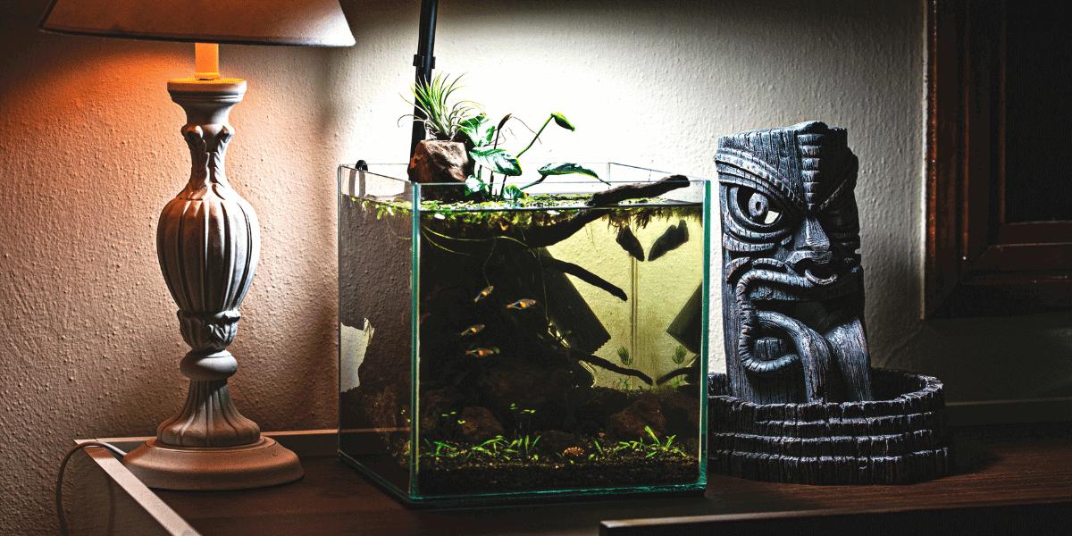 Akvarijní set nano akvárium