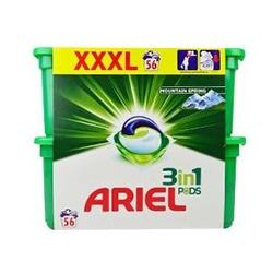 Nejlepší kapsle na praní Ariel Mountain Spring 56 ks 56 PD test a recenze