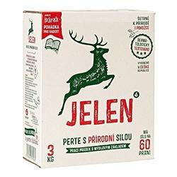 Nejlepší prášek na praní Jelen mýdlový prací prášek 3 kg 60 PD test a recenze