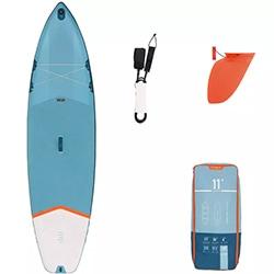 nafukovací paddleboard SUP 10'7 modrý ITIWIT test a recenze