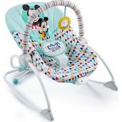 Nejlepší dětská lehátka - Bright Starts Mickey Mouse Happy