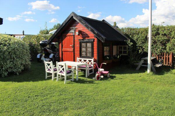 Dřevěný domek pro děti