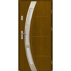 Dřevěné vchodové dveře včetně zateplení – recenze a srovnání vstupních dveří