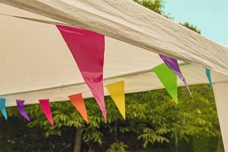 Nejlepší párty zahradní stan na svatbu