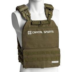 Nejlepší zátěžové vesty -Capital Sports Battlevest 2.0 2x4 kg