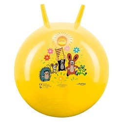 Nejlepší gymnastické míče a balónové židle - John Hopsadlo Krtek 500 mm