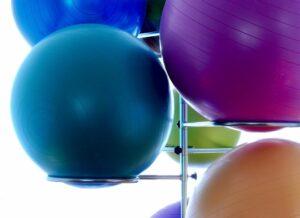 Nejlepší gymnastické míče a balónové židle - recenze