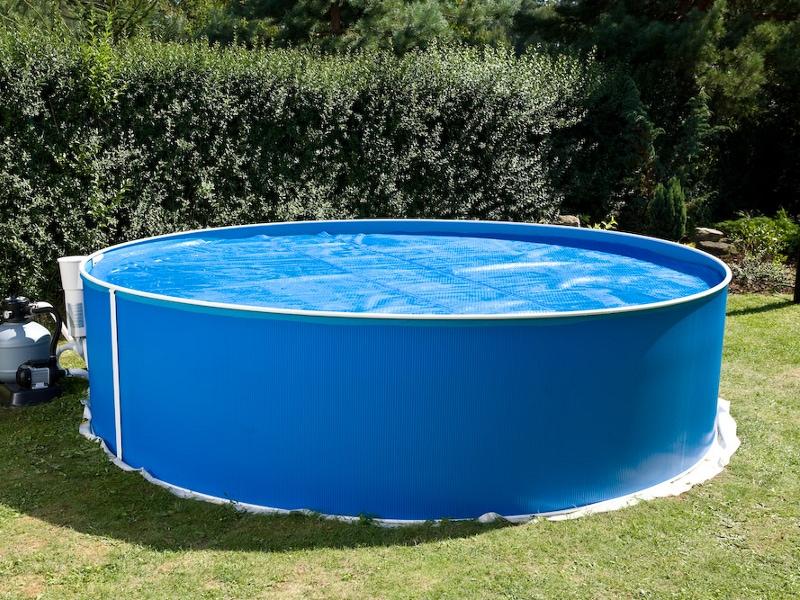 solární folie na bazén