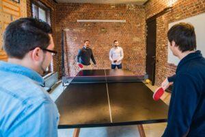 Čtyřhra - ping pong stůl