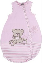 Jacky Nos Bear 50-56 - spací vak pro miminko - tabulka