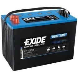 Exide Dual 12V 100Ah 720A EP900